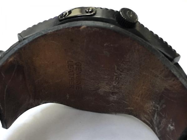 DIESEL(ディーゼル) 腕時計 DZ-1310 メンズ 革ベルト 黒 4