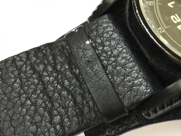 DIESEL(ディーゼル) 腕時計 DZ-1310 メンズ 革ベルト 黒 6