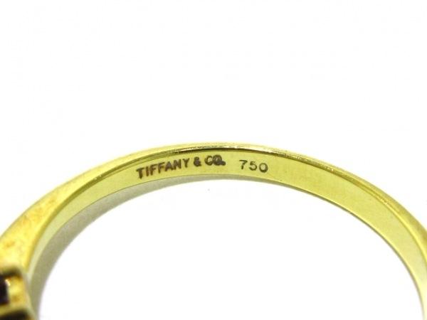 TIFFANY&Co.(ティファニー) リング美品  - K18YG×ルビー×パール 5