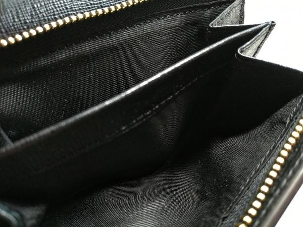 FURLA(フルラ) 3つ折り財布美品  黒 レザー 4