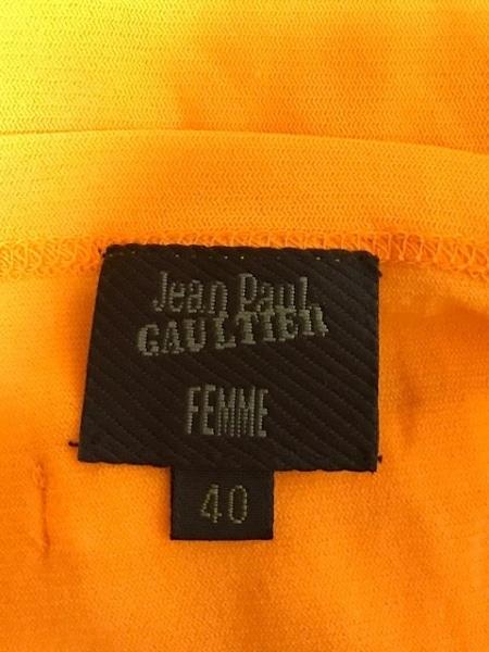 ゴルチエ キャミソール サイズ40 M レディース美品  オレンジ 3
