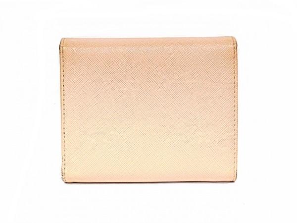PRADA(プラダ) 3つ折り財布 - ピンク レザー 2