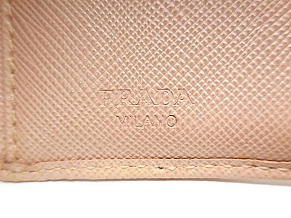 PRADA(プラダ) 3つ折り財布 - ピンク レザー 5