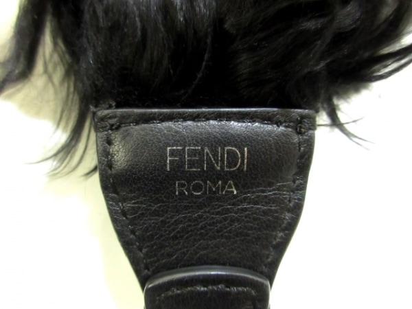 FENDI(フェンディ) ショルダーストラップ美品  ストラップユー 黒 3