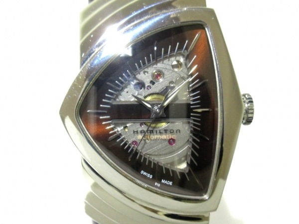 ハミルトン 腕時計 ベンチュラ H245150 メンズ 黒×シルバー 1