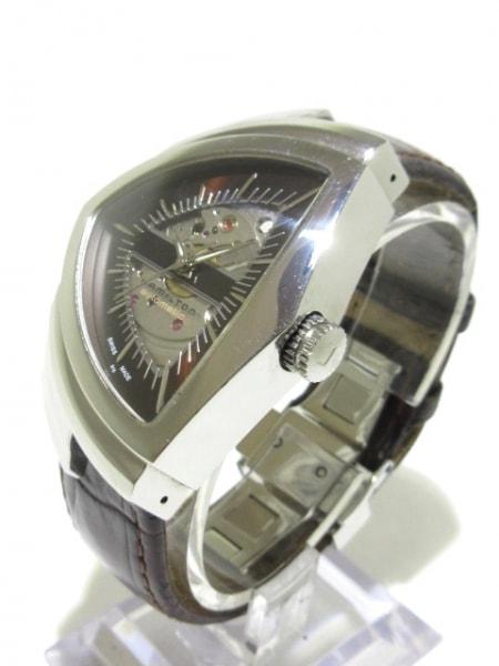 ハミルトン 腕時計 ベンチュラ H245150 メンズ 黒×シルバー 2