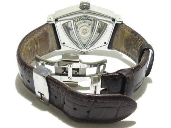 ハミルトン 腕時計 ベンチュラ H245150 メンズ 黒×シルバー 5