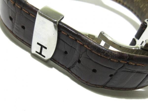 ハミルトン 腕時計 ベンチュラ H245150 メンズ 黒×シルバー 8