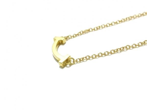 ティファニー ネックレス美品  Tスマイル K18YG 総重量2.3g 7