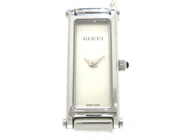 GUCCI(グッチ) 腕時計 1500L レディース シルバー 1