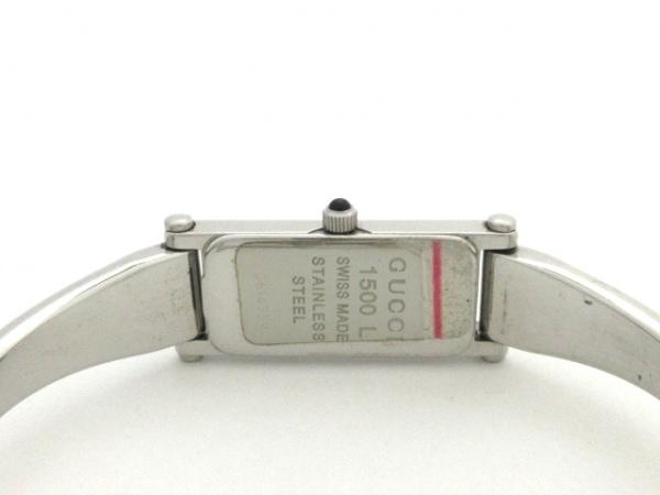 GUCCI(グッチ) 腕時計 1500L レディース シルバー 4