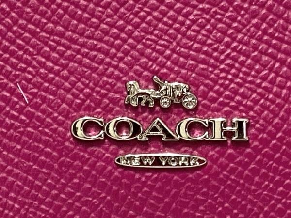COACH(コーチ) 3つ折り財布 - F87588 パープル レザー 5