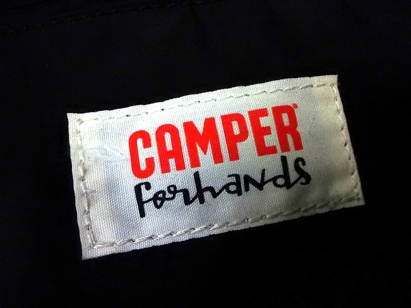 CAMPER(カンペール) ハンドバッグ グレー×黒 ナイロン×レザー 6