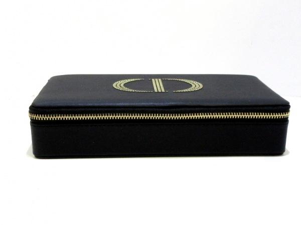 ディオールパフューム バニティバッグ美品  - 黒×ゴールド 1