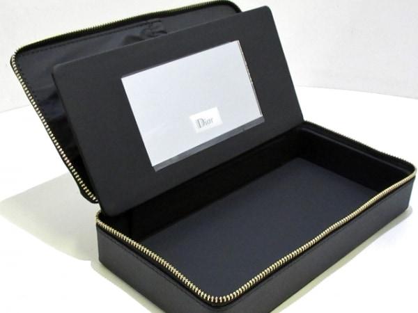 ディオールパフューム バニティバッグ美品  - 黒×ゴールド 8