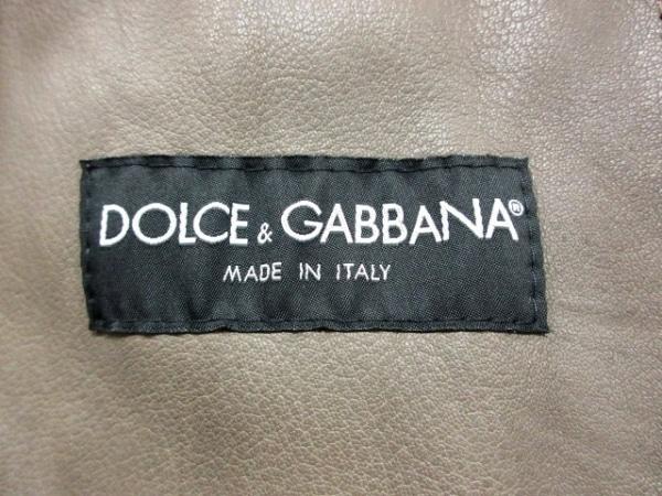 ドルチェアンドガッバーナ ライダースジャケット サイズ46 S メンズ 3