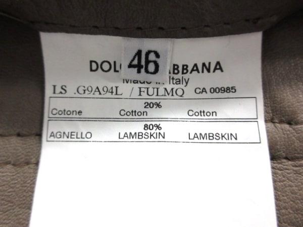 ドルチェアンドガッバーナ ライダースジャケット サイズ46 S メンズ 4