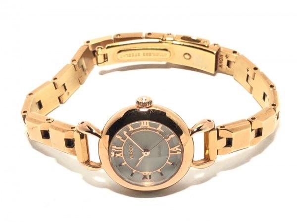 WIRED(ワイアード) 腕時計 - V111-0BL0 レディース 白 2