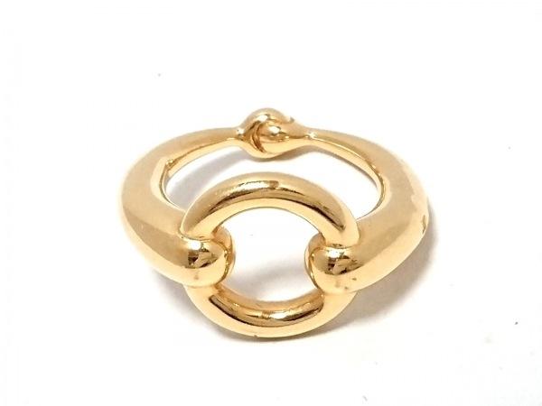 HERMES(エルメス) スカーフリング美品  - 金属素材 ゴールド 1