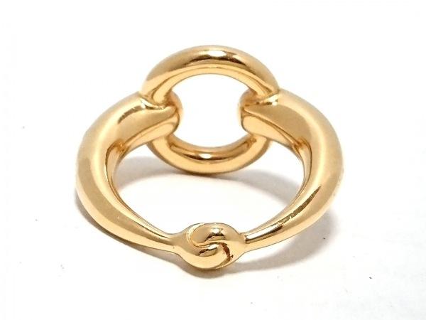 HERMES(エルメス) スカーフリング美品  - 金属素材 ゴールド 2
