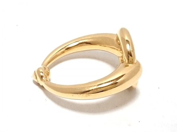 HERMES(エルメス) スカーフリング美品  - 金属素材 ゴールド 3
