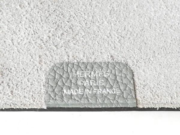 HERMES(エルメス) 手帳 ユリスPM グレー トリヨンクレマンス 4