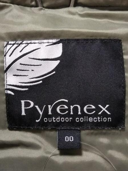 PYRENEX(ピレネックス) ダウンベスト サイズ00 XS レディース カーキ 3