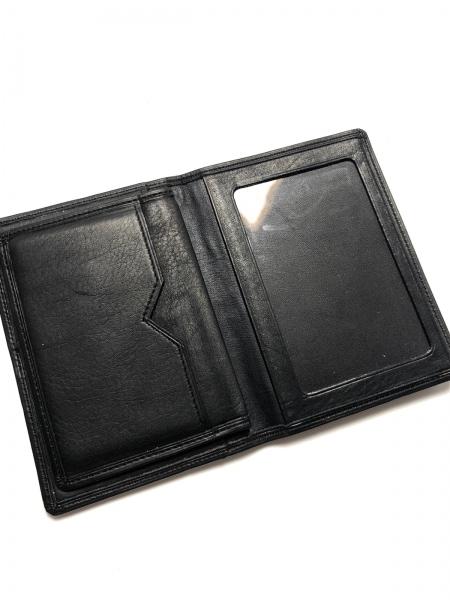 YvesSaintLaurent(イヴサンローラン) カードケース美品  黒 レザー 3