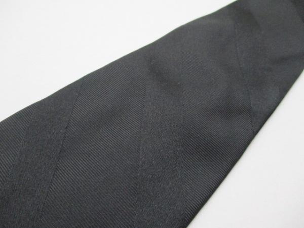 PaulSmith(ポールスミス) ネクタイ メンズ美品  黒 斜めストライプ 5