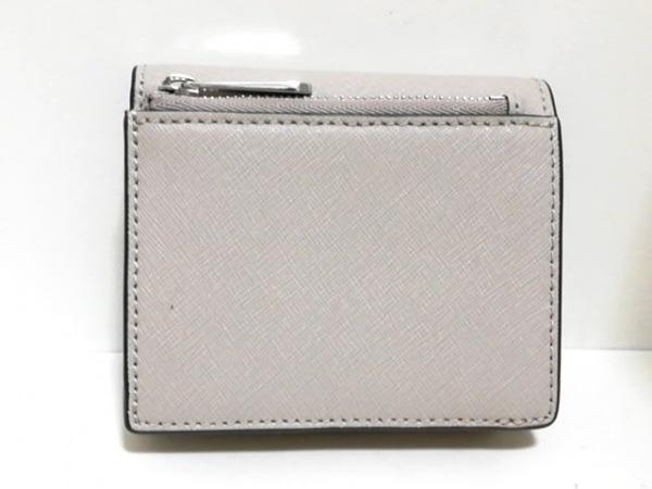 MICHAEL KORS(マイケルコース) 2つ折り財布 - ベージュ レザー 2
