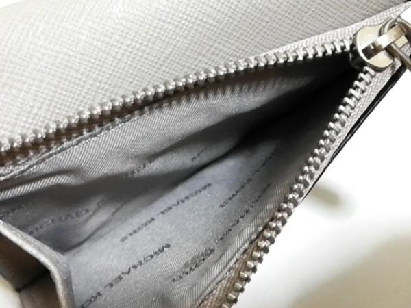MICHAEL KORS(マイケルコース) 2つ折り財布 - ベージュ レザー 4