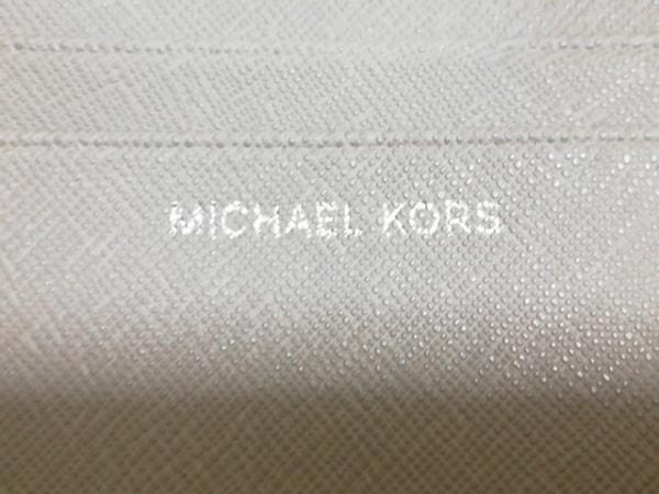 MICHAEL KORS(マイケルコース) 2つ折り財布 - ベージュ レザー 5