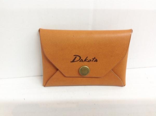 Dakota(ダコタ) 名刺入れ ライトブラウン レザー 1