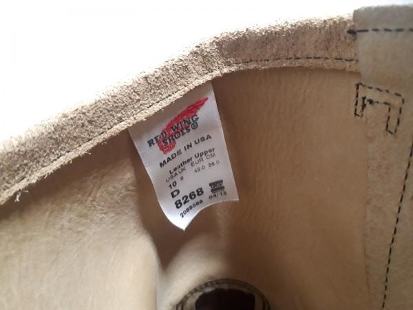 レッドウイング ショートブーツ 28 メンズ - 8268 ライトブラウン 5