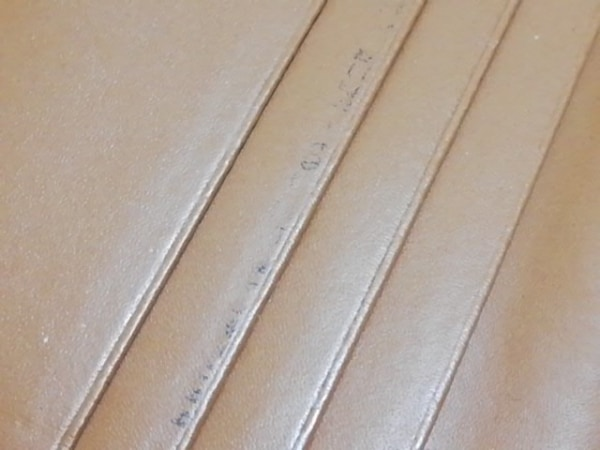 FURLA(フルラ) カードケース ライトブラウン レザー 5