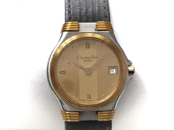 ディオール 腕時計 32 14 02 レディース 革ベルト ゴールド 1