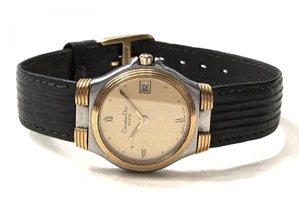 ディオール 腕時計 32 14 02 レディース 革ベルト ゴールド 2
