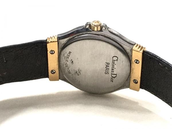ディオール 腕時計 32 14 02 レディース 革ベルト ゴールド 4