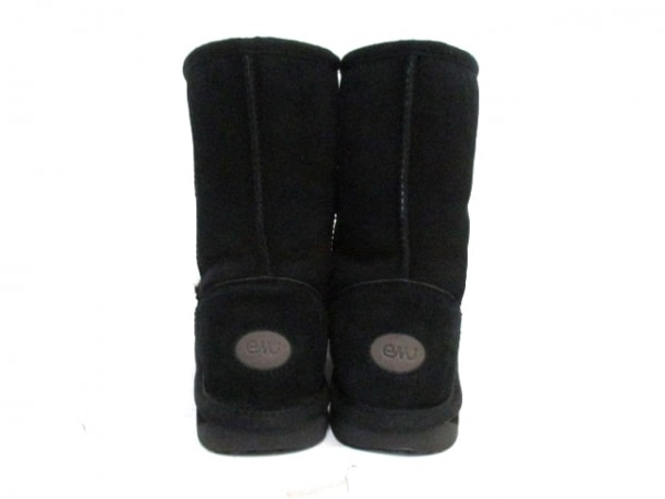EMU(エミュ) ブーツ メンズ 黒 ムートン 3