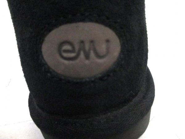 EMU(エミュ) ブーツ メンズ 黒 ムートン 5