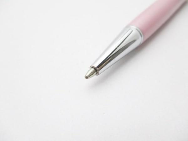 スワロフスキー ボールペン - ピンク×シルバー インクあり(黒) 3