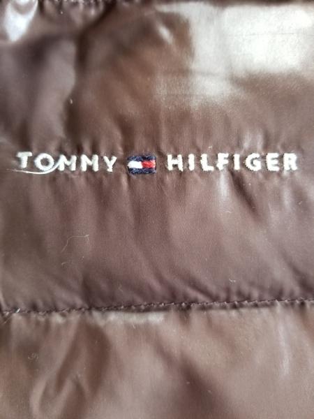 トミーヒルフィガー ダウンベスト サイズl1 レディース美品 4