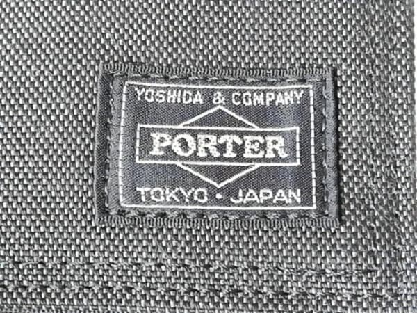PORTER/吉田(ポーター) 名刺入れ - 黒 キャンバス 4