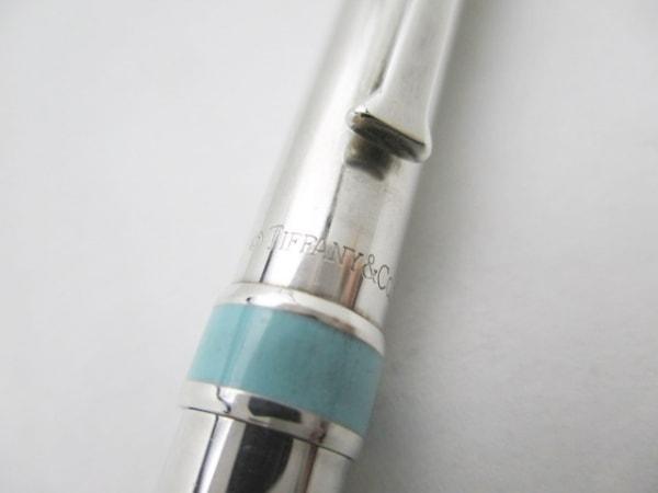 ティファニー ボールペン シルバー×ライトブルー インクなし 2