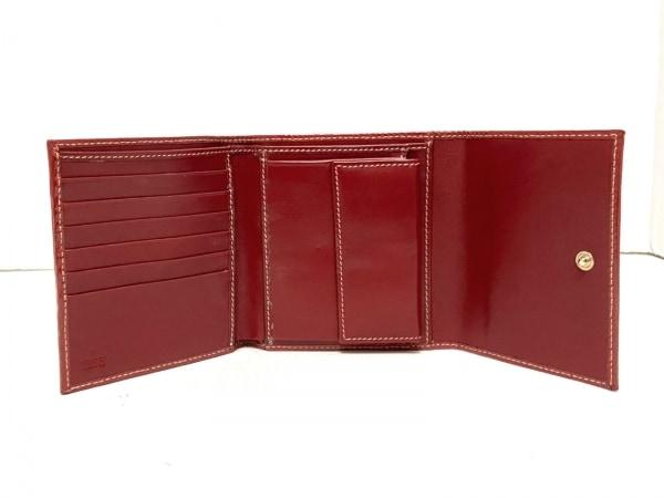 GUCCI(グッチ) 3つ折り財布 - 211846 アイボリー×レッド×ネイビー 3