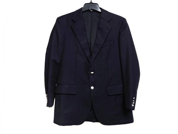 バーバリーロンドン ジャケット サイズA5 メンズ 黒 肩パッド 1