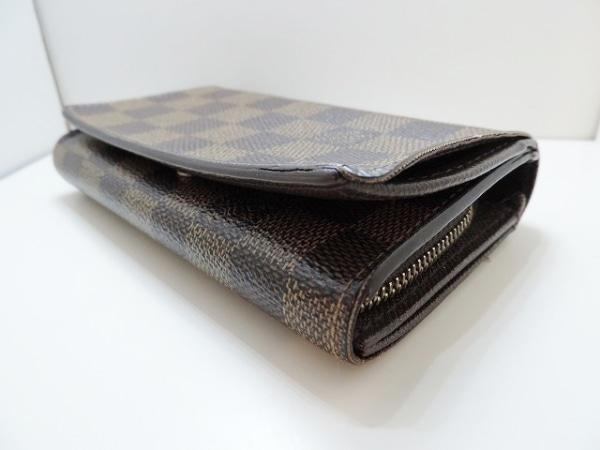 ルイヴィトン 2つ折り財布 ダミエ ポルトフォイユ・トレゾール 8
