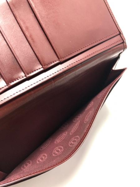 Cartier(カルティエ) 札入れ マストライン ボルドー レザー 4