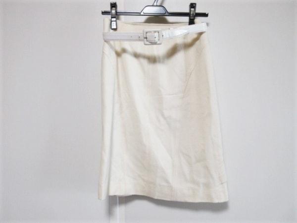 ピンキー&ダイアン スカート サイズ36 S レディース アイボリー 1