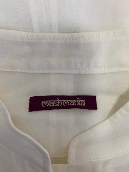 マッシュマニア ブルゾン サイズF レディース美品  白×ネイビー 3